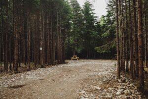 Private campsite