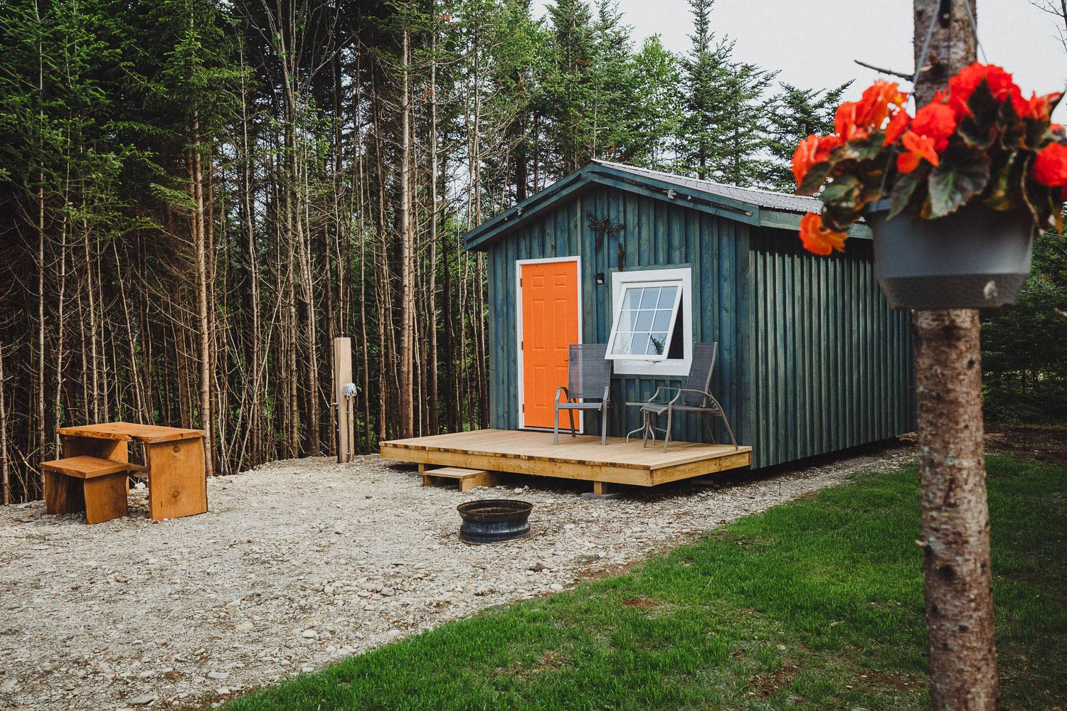 alma campground cabins