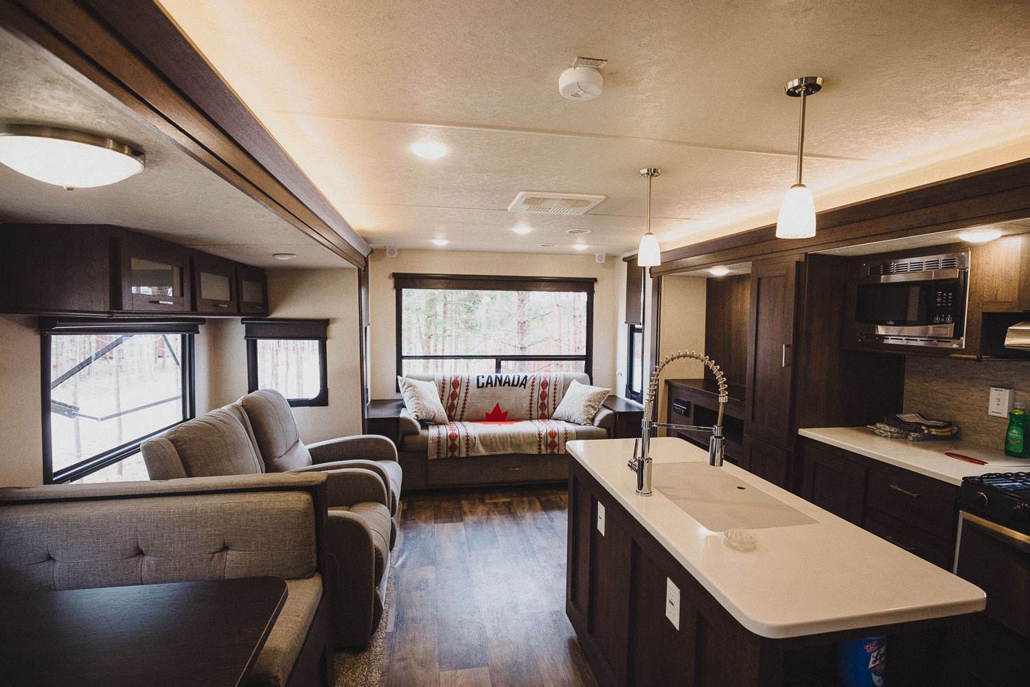 RV trailer West River Camping