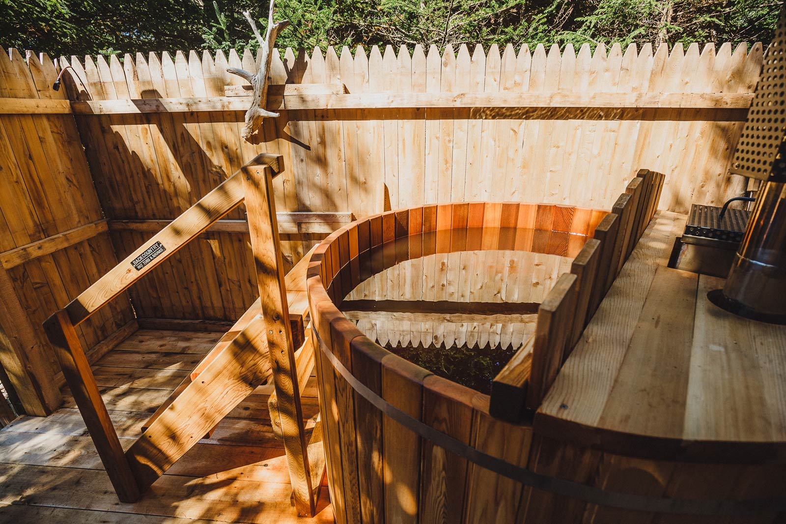 Hot Tub at campground