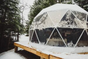 dome at west river camping