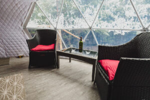 relax in a dome