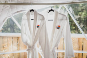 Robes for hot tub