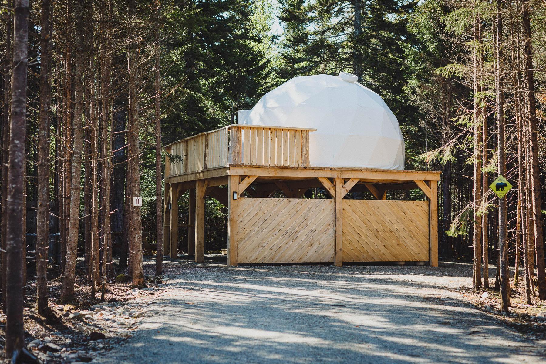 Raised Dome